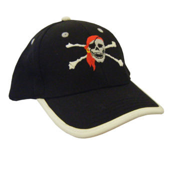 Kids Pirate Baseball Cap