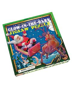Christmas Glow In The Dark Puzzle