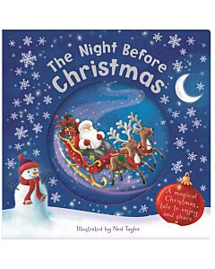 The Night Before Christmas Snowglobe Book