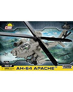 Cobi AH-64 Apache Helicopter Model