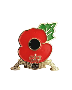 Submarine Poppy Pin Badge