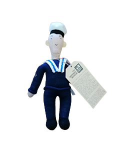 Ernie The Knitted Sailor