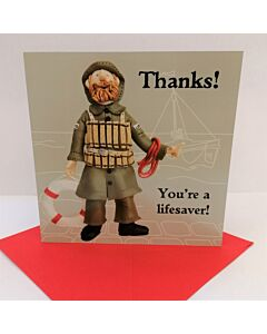 Your A Lifesaver.... Greeting Card