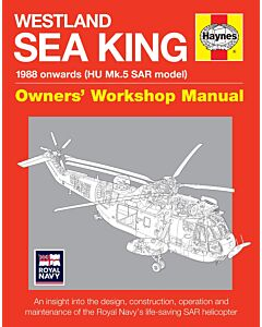 Westland Sea King Haynes Manual Book