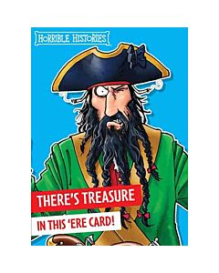 Horrible Histories Pirate Card