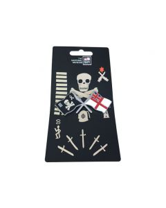 Jolly Roger & Ensign Magnet