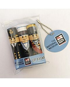 Nautical Naval Lip Balm Set