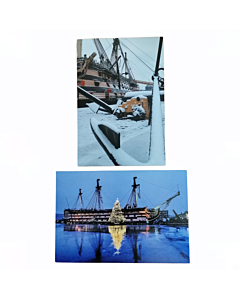 HMS Victory Christmas Cards Pack of 10