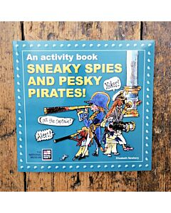 Sneaky Spies and Pesky Pirates Activity Book