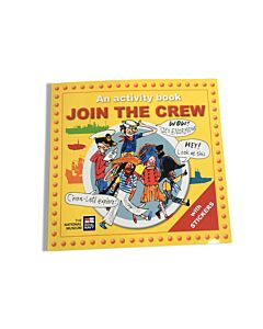 Join the Crew Activity & Sticker Book