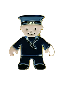 Mascot WWI Sailor Pin Badge