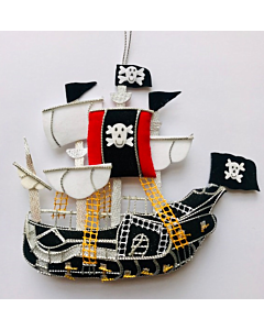 Pirate Ship Christmas Decoration