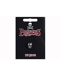 Pirate Skull Pin Badge
