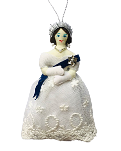 Queen Victoria Christmas Decoration