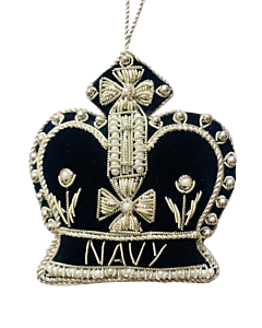 Naval Crown Christmas Decoration