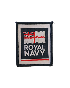 Royal Navy Woven Sew on Badge