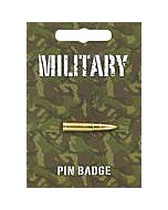 Bullet Pin Badge