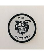 HMS Victory Woven Sew on Badge