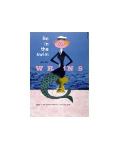 Be In The Swim Wrens Poster