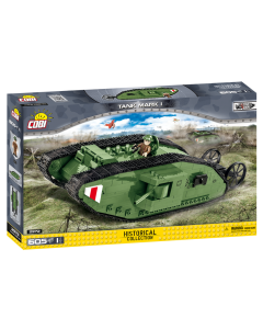 Cobi Small Army WW1 Tank Mark I Model