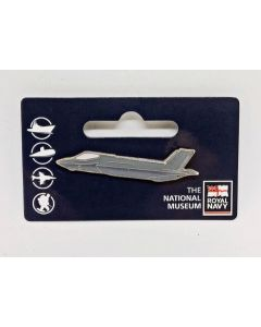 F35 Jet Pin Badge