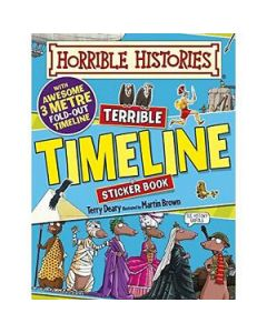 Horrible Histories Sticker Book