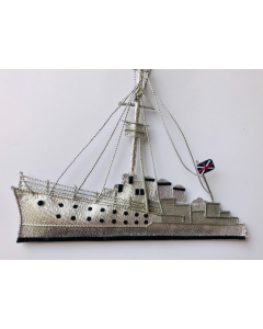 HMS Caroline Ship Hand-Made Hanging Decoration
