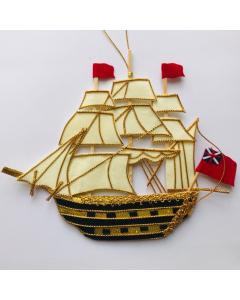 HMS Victory Ship Hand-Made Hanging Decoration