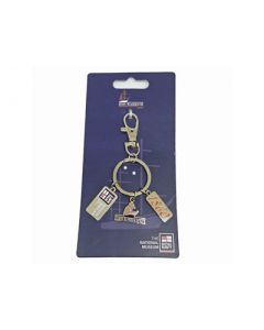 HMS Warrior Trinket Keyring