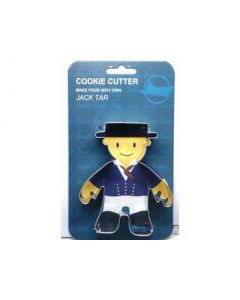 Mascot  Jack Tar Cookie Cutter