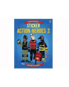Action Heroes Sticker Book