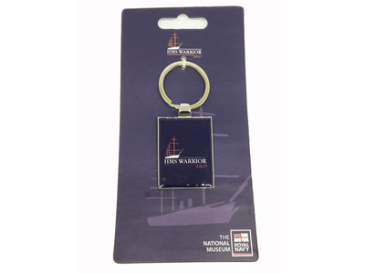 HMS Warrior Keyring