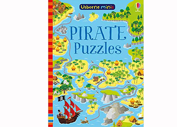 Mini Pirate Puzzle Book - Usbourne