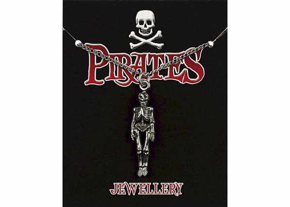 Pirate Skeleton Pendant