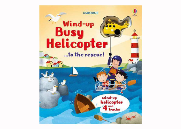 Wind Up Helicopters